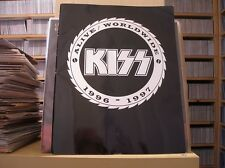"""KISS - A LIVE WORLD WIDE 1996 - 1997 - 32 FULL COLOR PAGES - 12"""" X 16"""" - """"RARE"""""""