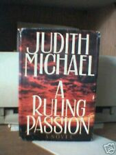 Judith Michael/ A Ruling Passion HB DJ BOOK