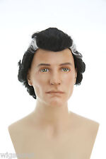 Short Brunette Straight Dracula Fun Color Costume Wigs for Halloween or a Party