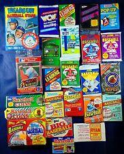 Baseball Football Soccer Wax Pack Lot Of 25 1988-1993 Topps Donruss Upper Deck +