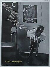 PUBLICITE SPIDO SPIDOLEINE BIDON AU CLAIR DE LA LUNE HUILE DE 1933 FRENCH AD PUB