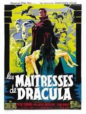 Brides de Dracula Poster 02 A2 Box Toile imprimer
