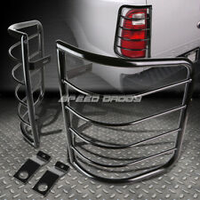 FOR 07-13 GM SILVERADO/SIERRA BLACK STAINLESS STEEL TAIL/BRAKE LIGHT CAGE GUARD