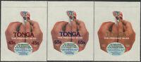Tonga official 1979 SGO190-O192 Death Centenary of Sir Rowland Hill set MNH