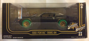 Greenlight 1:24 Hollywood 1980 Pontiac Trans Am Smokey Bandit GREEN MACHINE