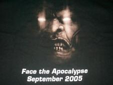 X-Men Legends II Rise of Apocalypse Game Promotional Black T-shirt Men's Large