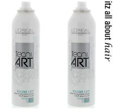 LOREAL TECNI ART VOLUME LIFT 250 ML x 2 Duo pack Aus Seller New 2017 stock