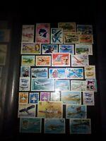 Flugzeuge Lot Briefmarken Sellos Stamps Timbres