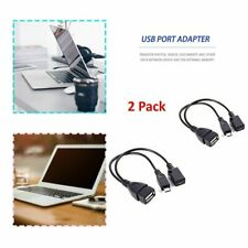 2 PCS Usb Port Terminal Adapter Otg Cable For Fire Tv 3 Or 2nd Fire Stick KW
