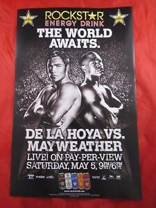 🥊OSCAR DE LA HOYA/FLOYD MAYWEATHER BOXING FIGHT POSTER!!🥊