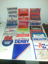 Maps Maps Maps and more Maps, Ideal Decoupage, 23 large maps and 4 streetmaps