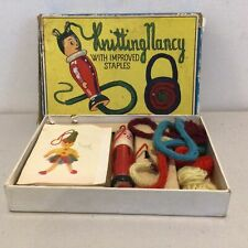 Vintage-Spear's Knitting Nancy with Improved Staples. Boxed. Made in England#710