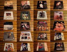 Choose any 5 Laserdiscs for $15  -- Wholesale Laserdisc Lot -- FREE SHIPPING
