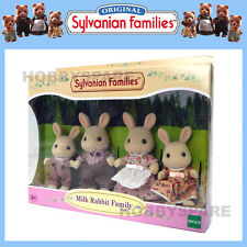 NEW SYLVANIAN FAMILIES MILK RABBIT FAMILY SET FIGURE 4108