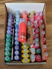 Lot Of 66 1.25oz Fabric Paint Bottles Assorted Colors