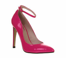 Ribbon 100% Leather Heels for Women