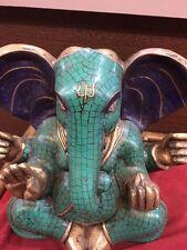 turquoise Ganesha