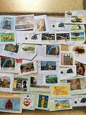 Ca Kanada Canada Kiloware 1 Kg 3000 Marken Aus Großem Postsack!