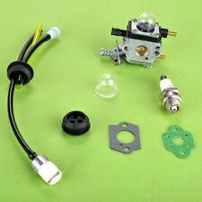 Carburetor spark plug kit for Echo 12520012820 Little Wonder 2242S 2124 trimmer
