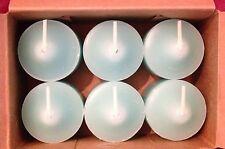 PartyLite Sail Votive Candles V06545 New 6 Nib Blue Fresh Retired Rare