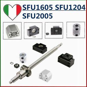 SFU1204 SFU1605 SFU2005 Viti a sfera con sigle Dado& BK/BF12&Support&Nut Housing