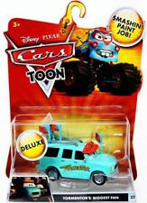 Cars Toon Deluxe Oversized Tormentor's Biggest Fan Diecast Car [Toon Edition]