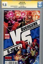 AVX VS 6 CGC 9.8 SS Stan Lee X-Men Avengers Iron Man Phoenix Captain America WP