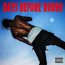 Travis Scott - Days Before Rodeo Mixtape CD Travi$