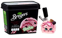 Black Raspberry Breyers + mini pack, Shopkins Real Littles Season 13 New!