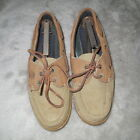 Timberland Womens Tan Boat Shoes Size 8 W PreOwned