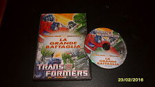Dvd Transformer La grande Battaglia OPTIMUS PRIME vs MEGATRON **RARO**