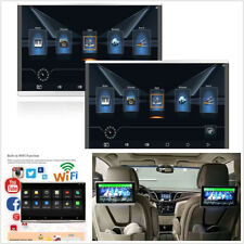 """2 Pcs 11.6"""" HD Car Android 7.1 Octa-core 1.5GHz WIFI 3G/4G Headrest Monitor HDMI"""