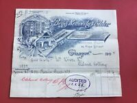 Begg Kennedy and Elder Stationers 1905 Glasgow Illustrated receipt R33067