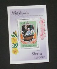 Sierra Leone 1985 Queen Mother 85th Birthday MS875 MS MNH UM unmounted mint