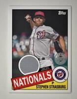 2020 Topps Series 2 1985 Baseball Relic #85TR-SS Stephen Strasburg