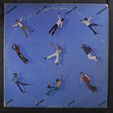 "PLEASURE: Joyous LP (9"" of seam splits, tear on 1 corner, promo stamp obc)"