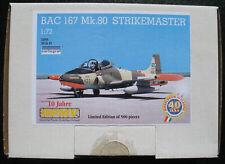 BAC 167 Mk.80 STRIKEMASTER - 1:72 - Limited Edition 500 pieces - 10 Jahre DPMV