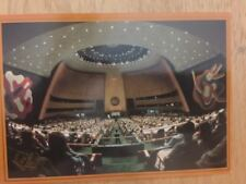 POSTCARD UNUSED NEW YORK UNITED NATIONS-GENERAL ASSEMBLY U.N. POSTAL ADMIN.