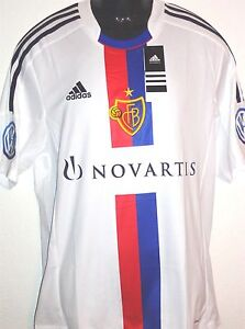 Original FC Basel Trikot Adidas in Größe S-3XL weiss +neu+ Jersey Suisse Schweiz