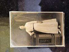 a2f postcard unused Lady white dress edwardian old undated