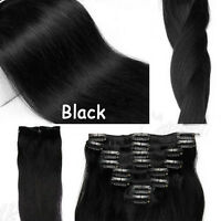 14-22 inch  70g 80g Grade AAA clip in real Remy human hair extensions stock