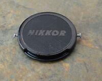 Genuine Nikon Japan NIKKOR 52mm Clip-On Front Lens Cap Pins J.U.M. (#1485)