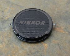 Genuine Nikon Japan NIKKOR 52mm Clip-On Front Lens Cap Pins J.U.M. (#1485)