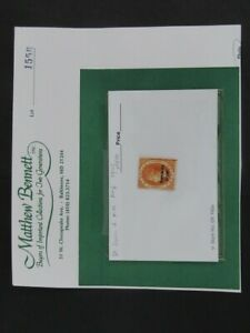 Nystamps British St Lucia Stamp #18 Mint OG Proof Signed paid $700 long ago g2xs