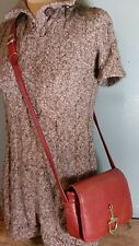 VTG Anonyme Brown Pebble Leather Crossbody Shoulder Bag Couture Leather lined!