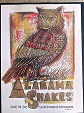 Alabama Shakes  Band Mini-Concert Poster Reprint for 2013 Birmingham AL   14x10