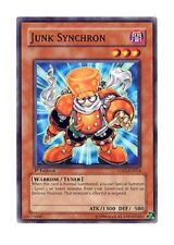Junk Synchron  1st  X 3 Mint Random Common Cards YUGIOH English
