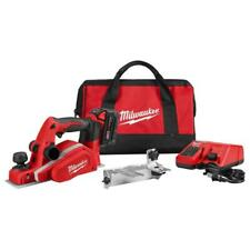 Milwaukee 2623-21 M18 18-Volt 3-1/4-Inch Planer w/ Bevel/Edge Guide - Kit