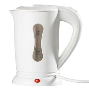 Small Mini Electric Travel Kettle 2 Cups Dual Voltage Jug  0.5L Lightweight Car