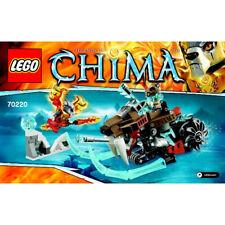 LEGO - CHIMA - 70220 - LA MOTO SABRE
